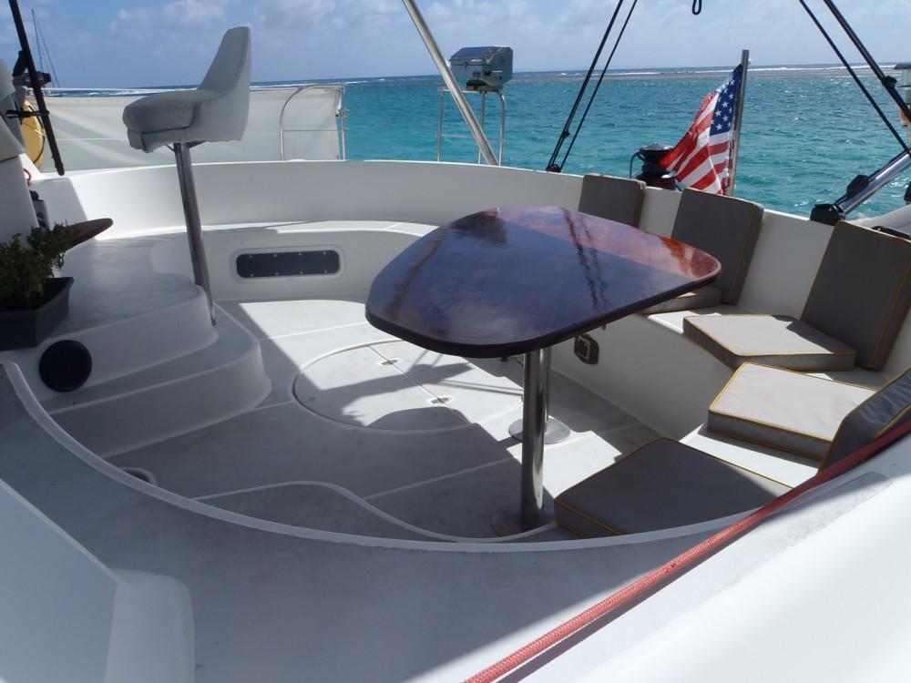Rental Catamaran in Saint-François - Fountaine Pajot Bahia 46