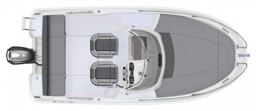 Rental Motor boat in Ibiza - Jeanneau Cap Camarat 5.5 WA