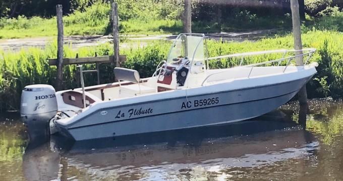 Rental Motorboat in Gujan-Mestras - Capelli Cap 19 Open