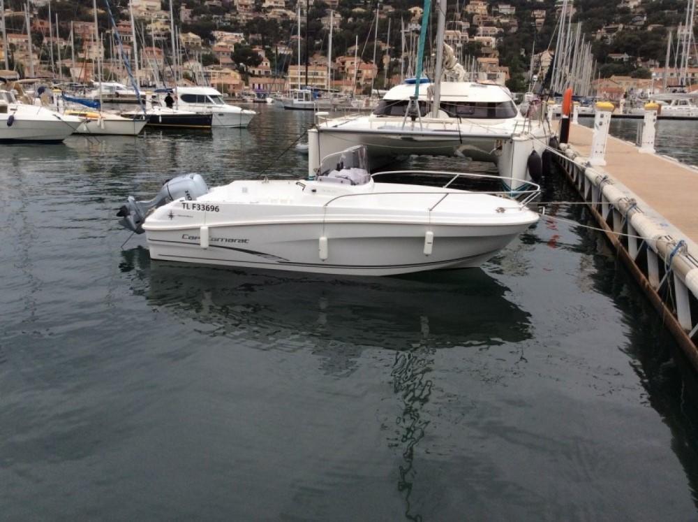 Boat rental  cheap Cap Camarat 5.5 CC