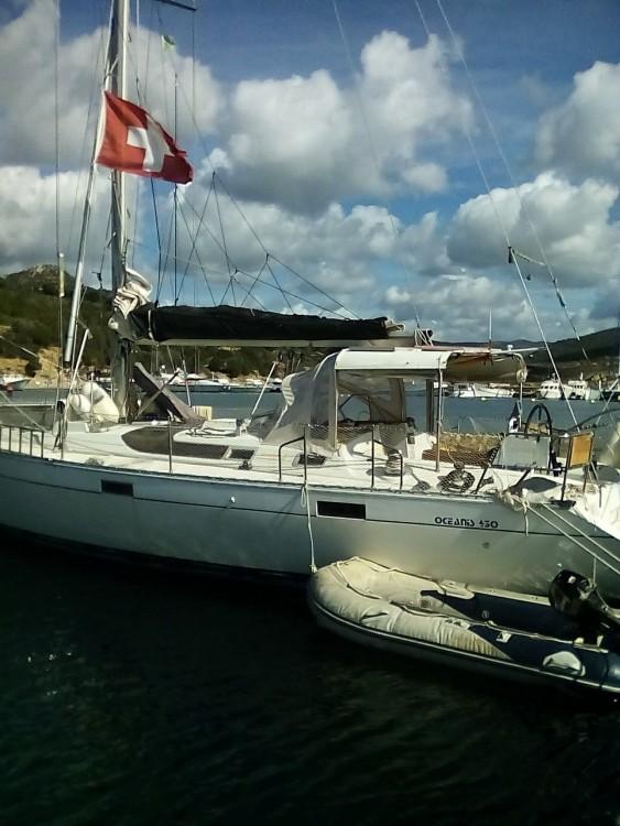 Boat rental Sant'Antioco cheap Oceanis 430