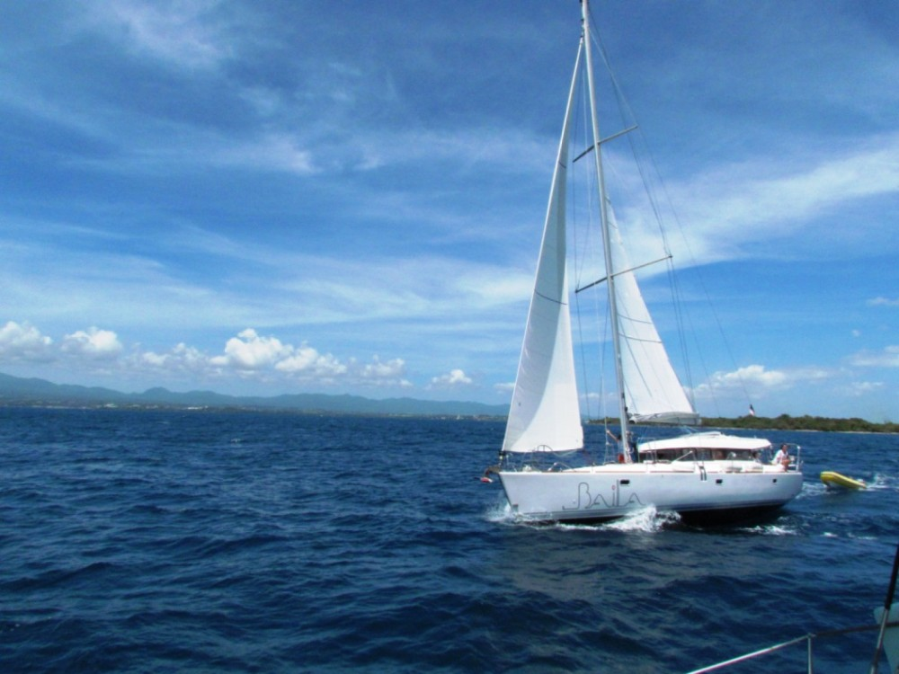 Dufour Atoll 50 between personal and professional Le Gosier