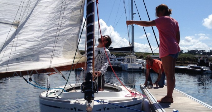 Hire Sailboat with or without skipper Cormoran Lanildut