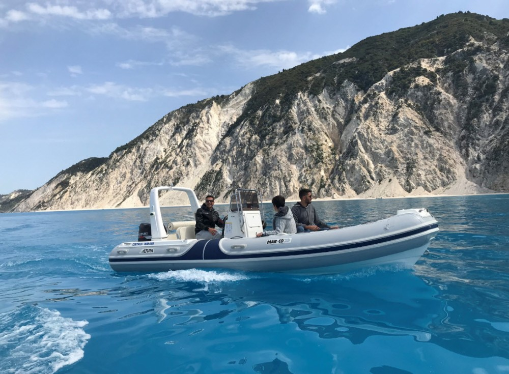 Hire RIB with or without skipper Mar.Co Lefkada
