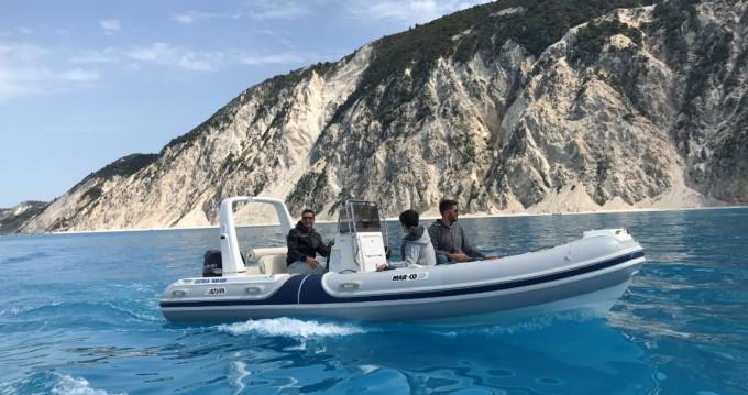 Boat rental Mar.Co RIB BOAT in Lefkada (Island) on Samboat