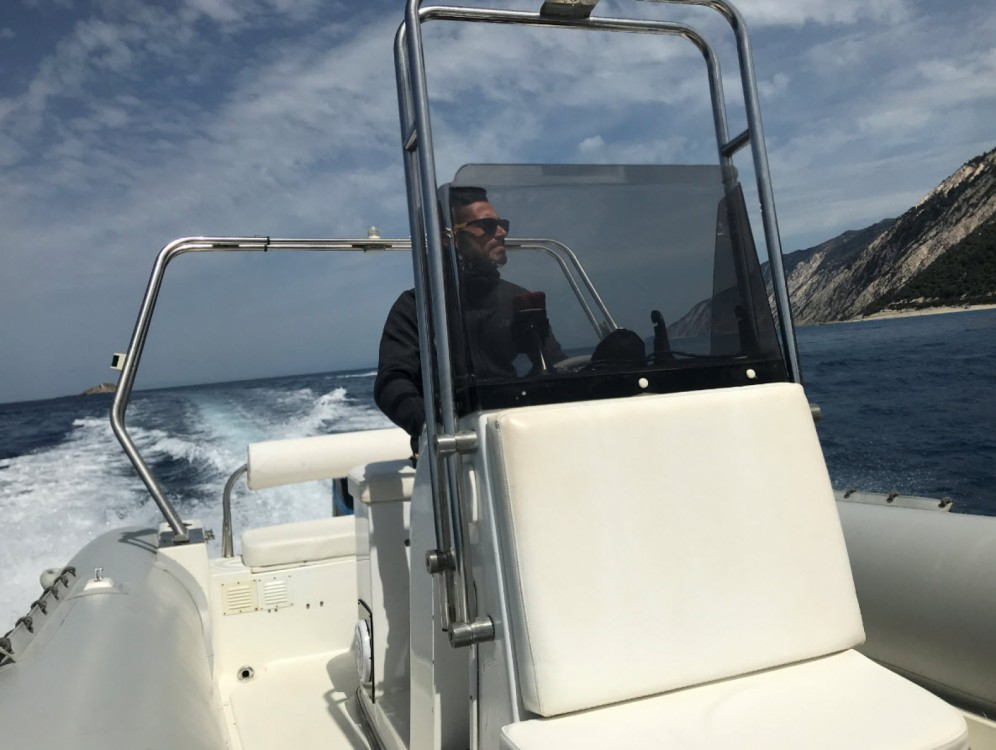 Hire RIB with or without skipper Mondial Marine Lefkada