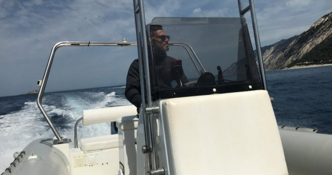 Rental yacht Lefkada (Island) - Mondial Marine RIB BOAT  on SamBoat