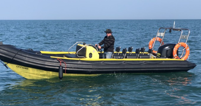 Hire RIB with or without skipper Tornado Granville