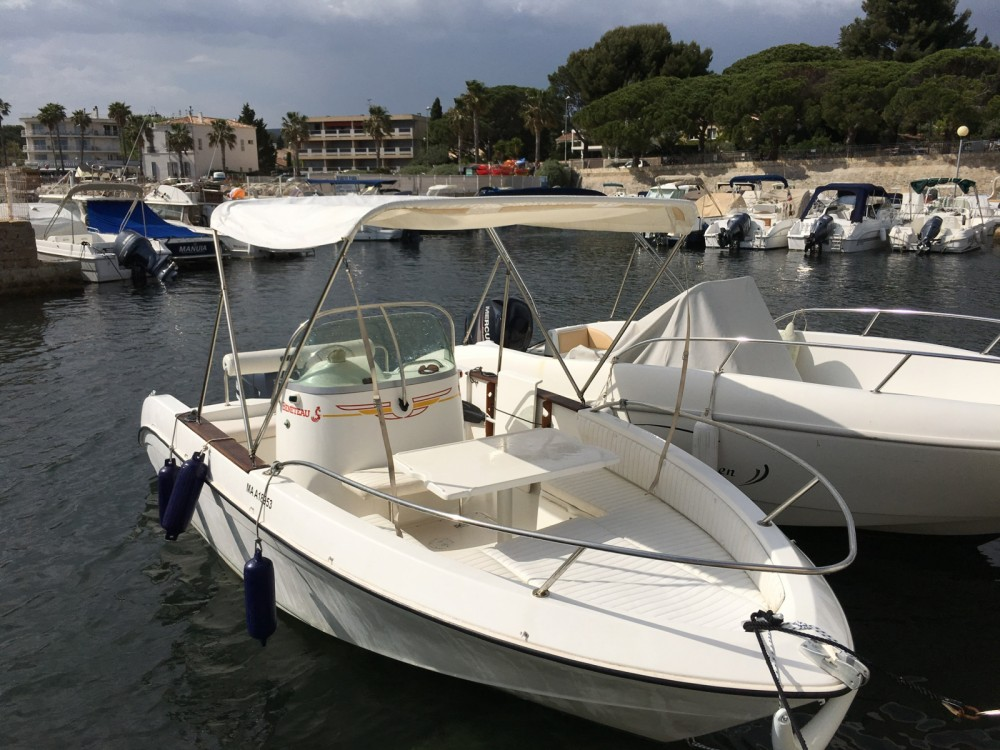 Motor boat for rent La Ciotat at the best price
