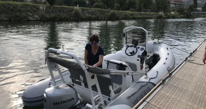 Rent a Highfield Ocean Master 540 Mandelieu-la-Napoule