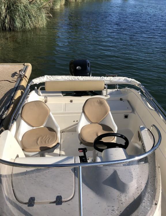 Rental Motor boat Poseidon with a permit