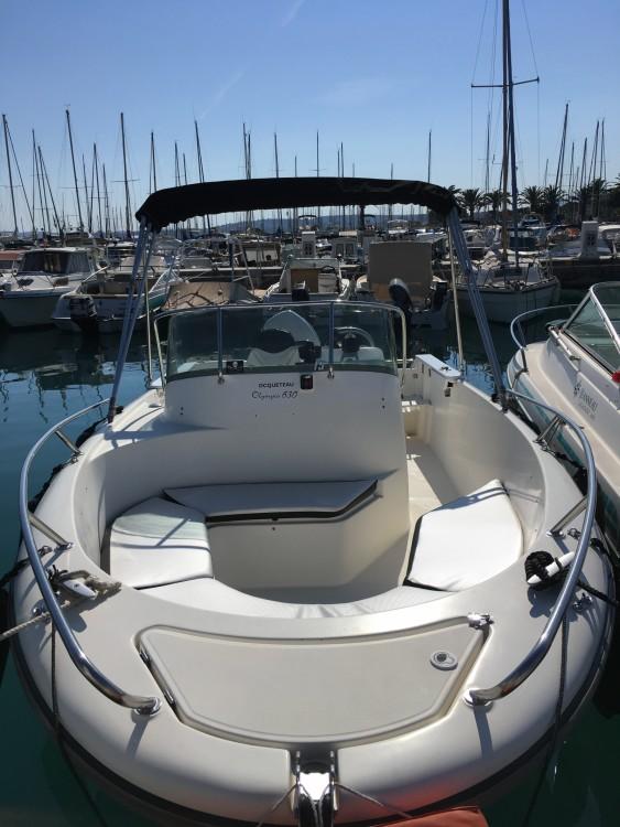 Boat rental Bord de Mer cheap Olympio 630