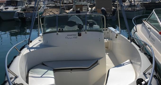 Hire Motorboat with or without skipper Ocqueteau Saint-Laurent-du-Var