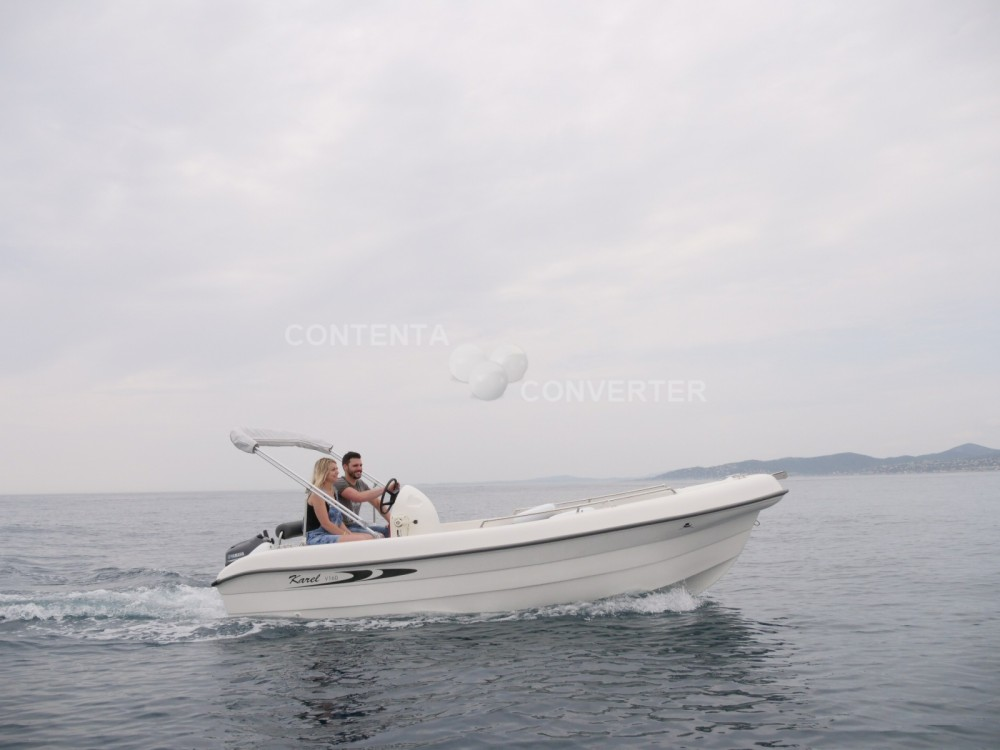 Rental Motor boat Karel with a permit