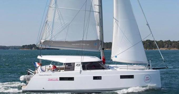 Boat rental Phuket cheap Nautitech 40