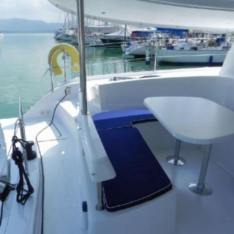 Hire Catamaran with or without skipper Fountaine Pajot Phuket