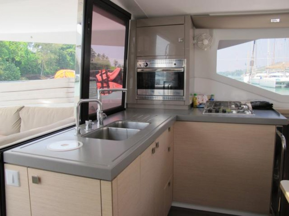 Fountaine Pajot Lucia 40 between personal and professional Phuket