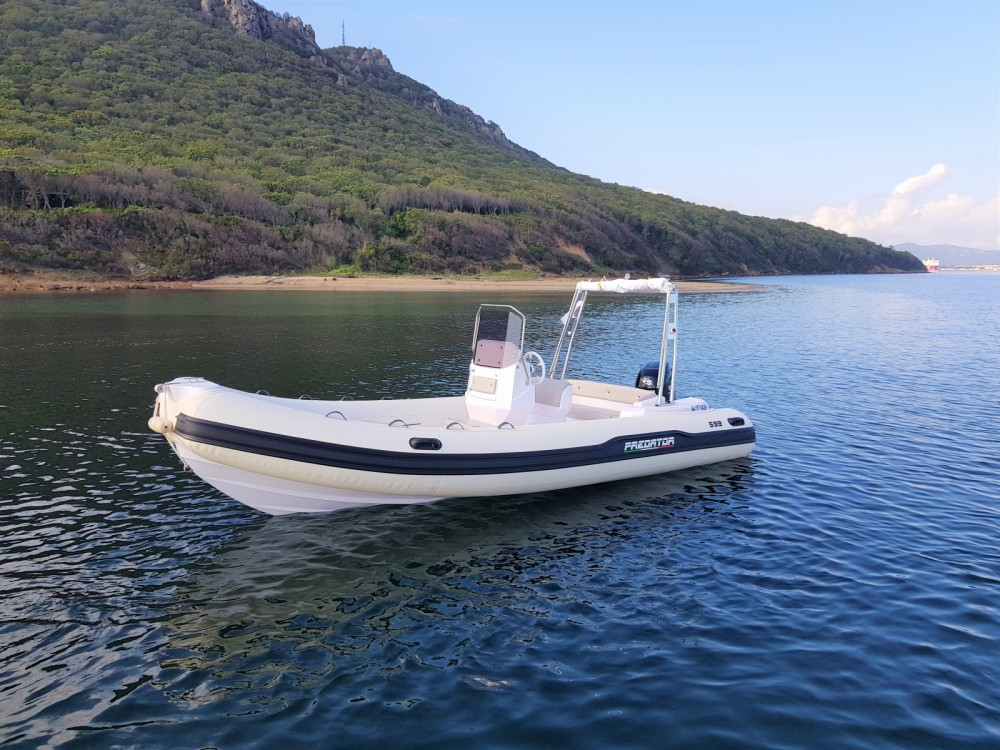 Hire RIB with or without skipper Italboats Porto-Vecchio