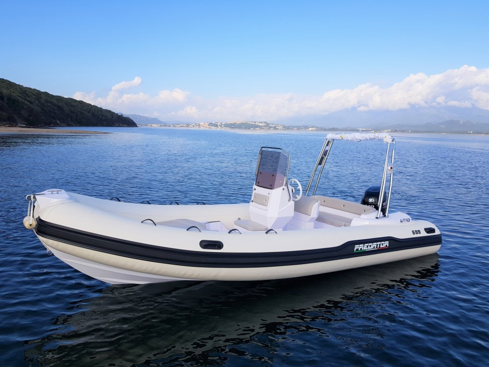 Rent a Italboats Predator 599 AS Porto-Vecchio