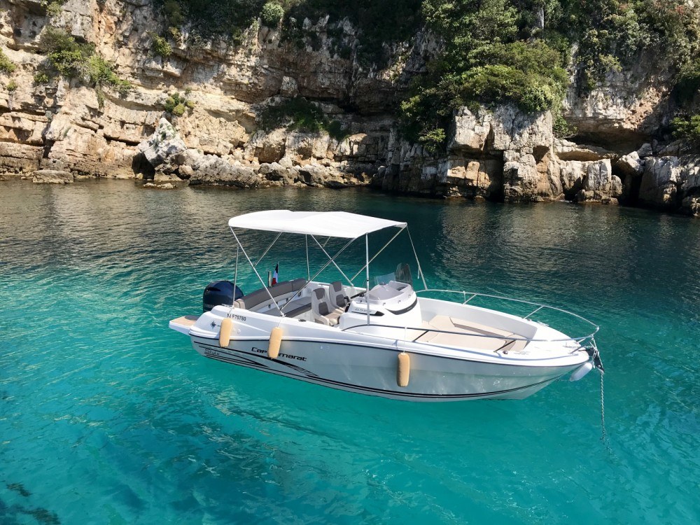 Hire Motor boat with or without skipper Jeanneau Antibes