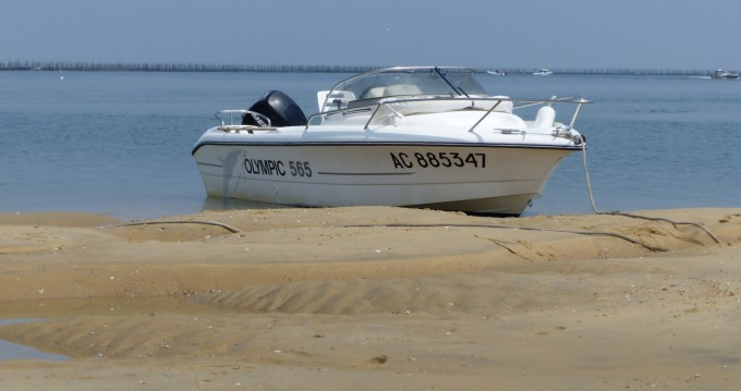 Boat rental Ocqueteau Olympic 565 in Arcachon on Samboat