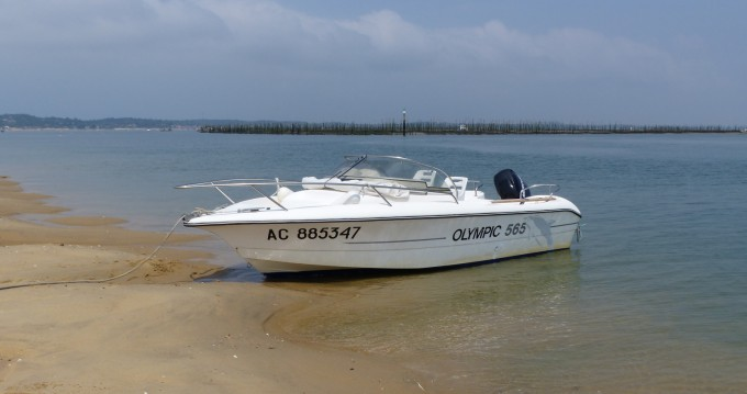 Rental Motorboat Ocqueteau with a permit