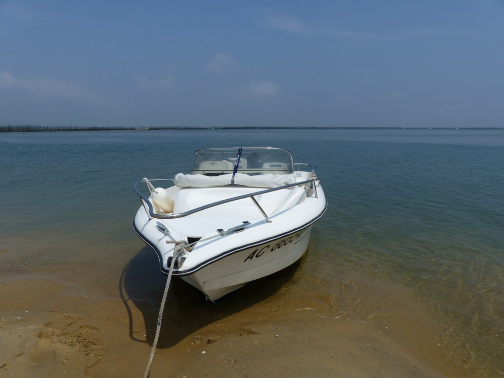 Rental Motor boat in Arcachon - Ocqueteau Olympic 565