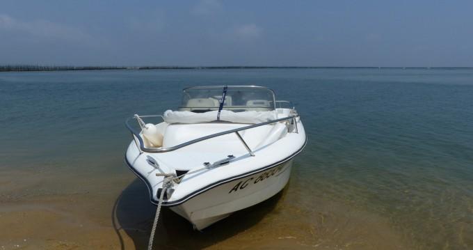 Boat rental Arcachon cheap Olympic 565