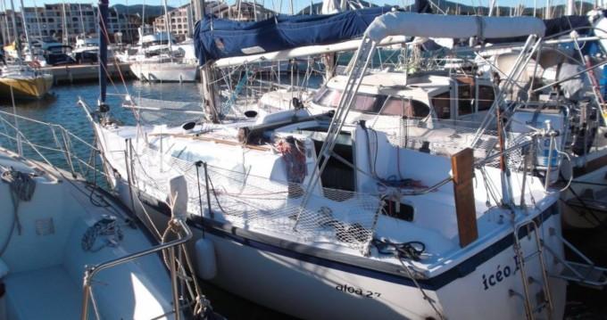 Rental yacht Cogolin - Aloa Aloa 27 on SamBoat