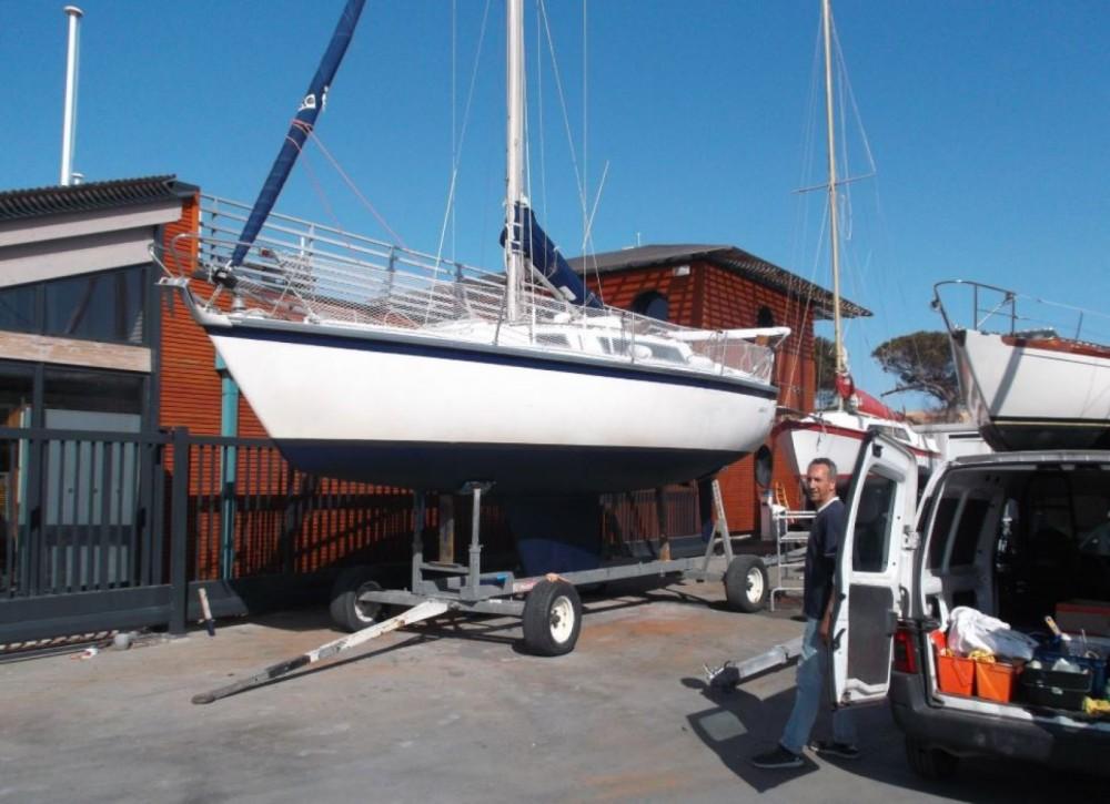 Rental Sailboat in Gassin - Aloa Aloa 27