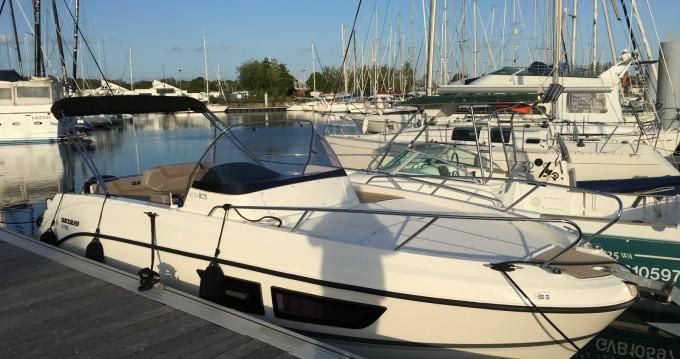 Boat rental Quicksilver Quicksilver 805 Sundeck in La Forêt-Fouesnant on Samboat