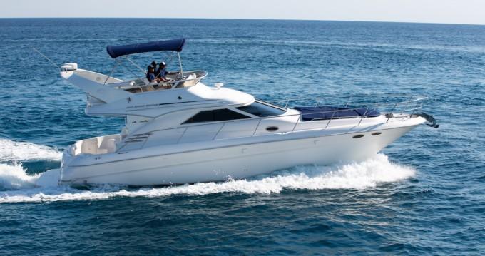Rent a Sea Ray Sea Ray 400 Sedan Puerto Aventuras