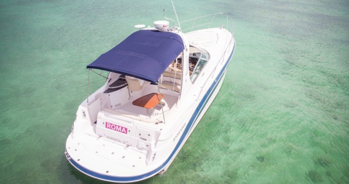 Boat rental Puerto Aventuras cheap Four Wins Vista