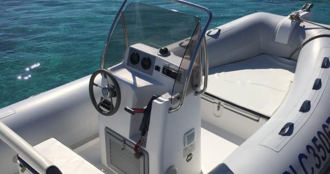 Boat rental L'Île-Rousse cheap Tempest 550