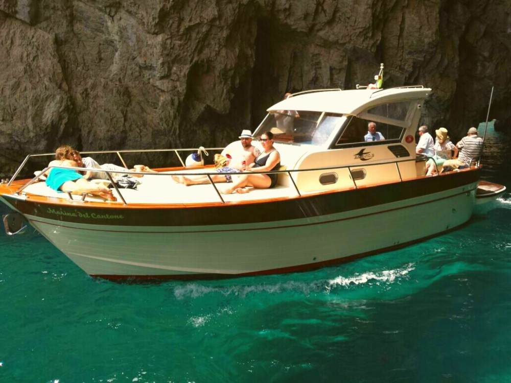 Rental Motor boat Aprea with a permit