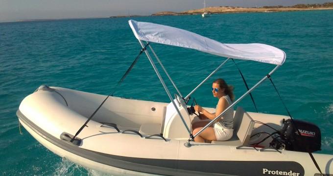 Boat rental Protender 420 in La Savina on Samboat