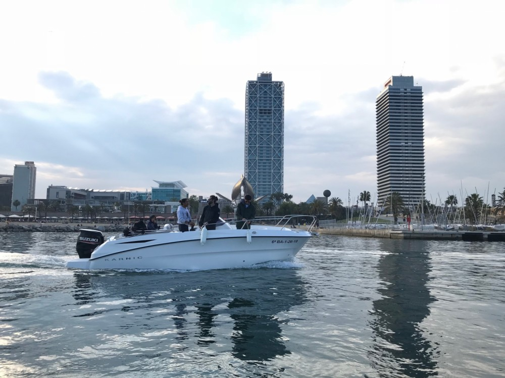Rental yacht Barcelona - Karnic 2251 MKII on SamBoat