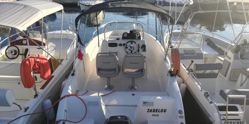 Rental Motor boat in Antibes - Quicksilver Activ 535 Open