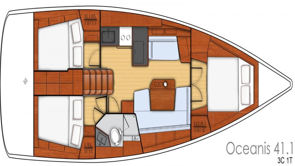 Rental yacht Bandol - Bénéteau Oceanis 41.1 on SamBoat