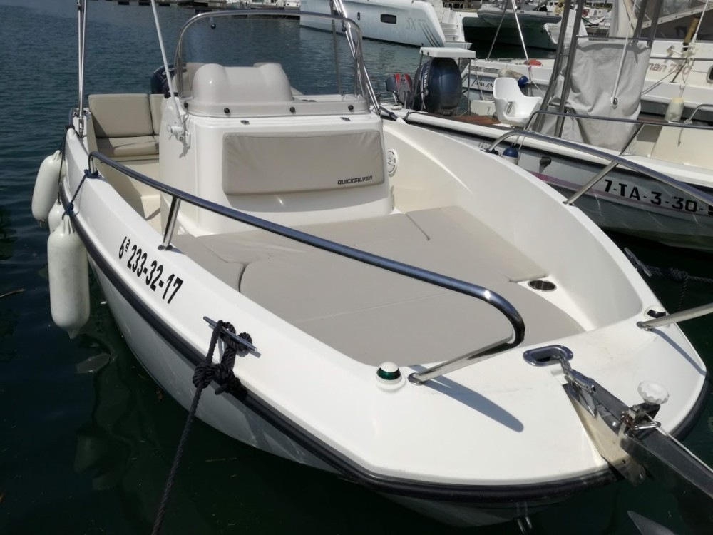 Rental yacht Sitges - Quicksilver Activ 555 Open on SamBoat