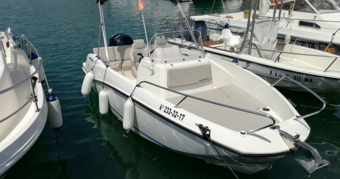 Hire Motorboat with or without skipper Quicksilver Port Ginesta