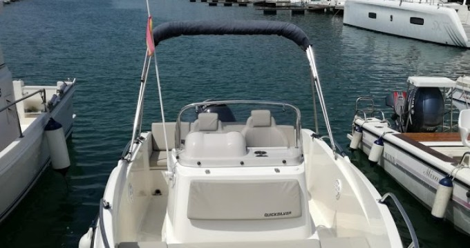 Motorboat for rent Port Ginesta at the best price