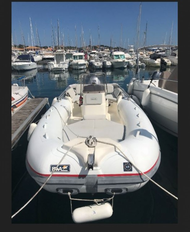 Hire RIB with or without skipper Bwa Saint-Raphaël