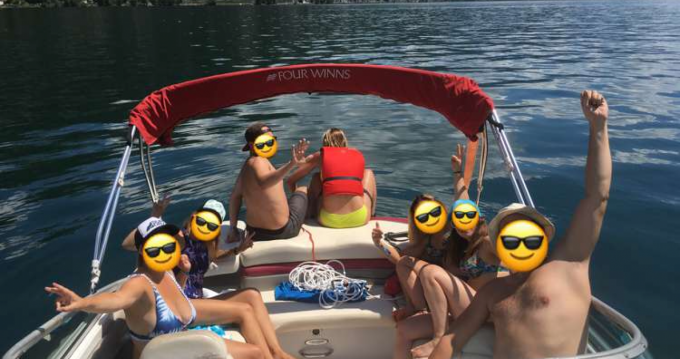 Hire Motorboat with or without skipper Four Winns Aix-les-Bains