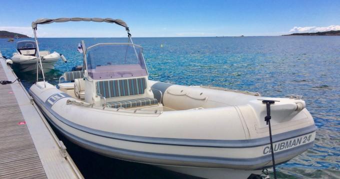 Boat rental Porto-Vecchio cheap Clubman 24