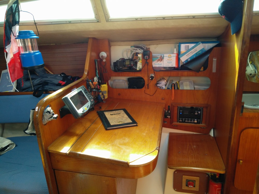 Rental Sailboat Kelt with a permit