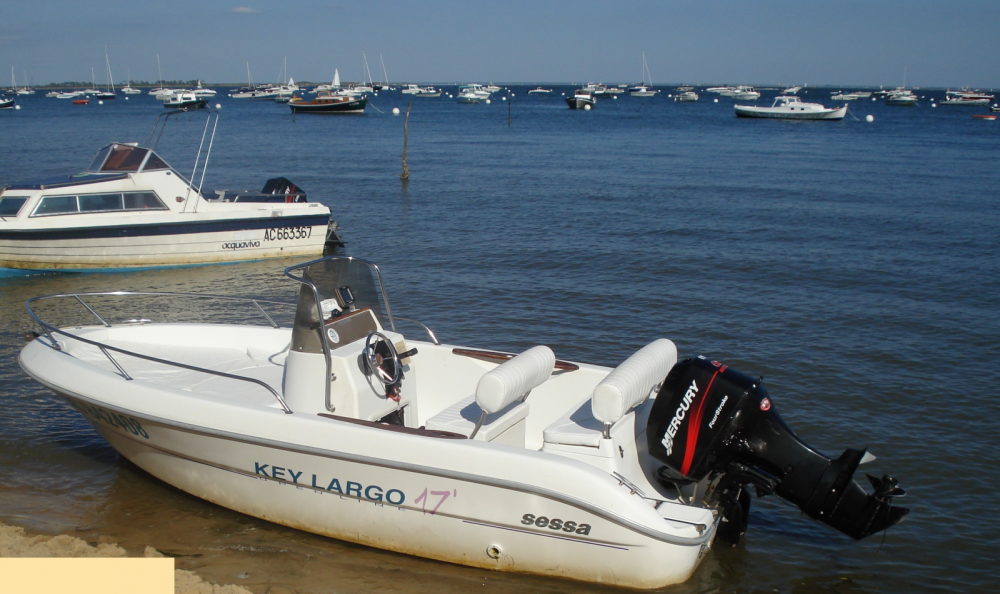 Hire Motor boat with or without skipper Sessa Marine Lège-Cap-Ferret