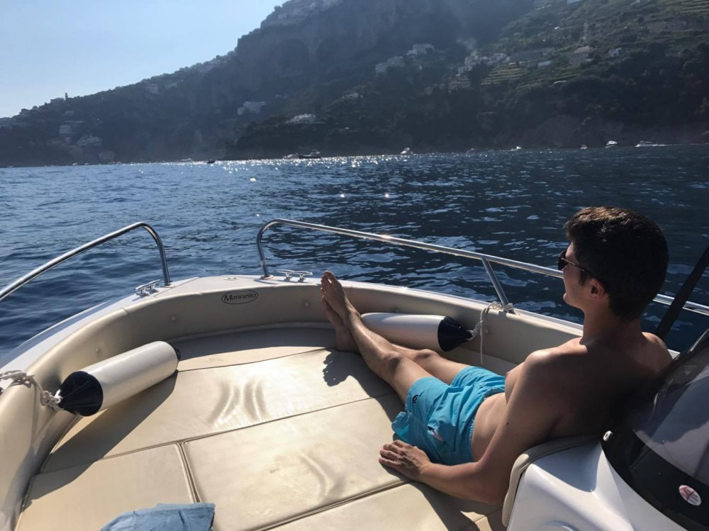 Hire Motor boat with or without skipper Marinello Amalfi