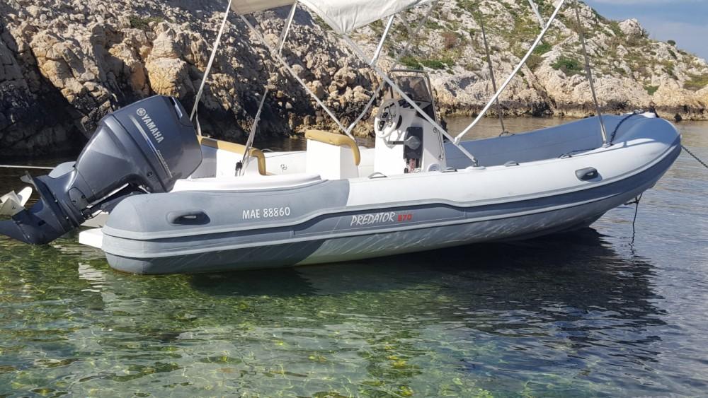 Rental RIB in Marseille - Italboats Predator 570