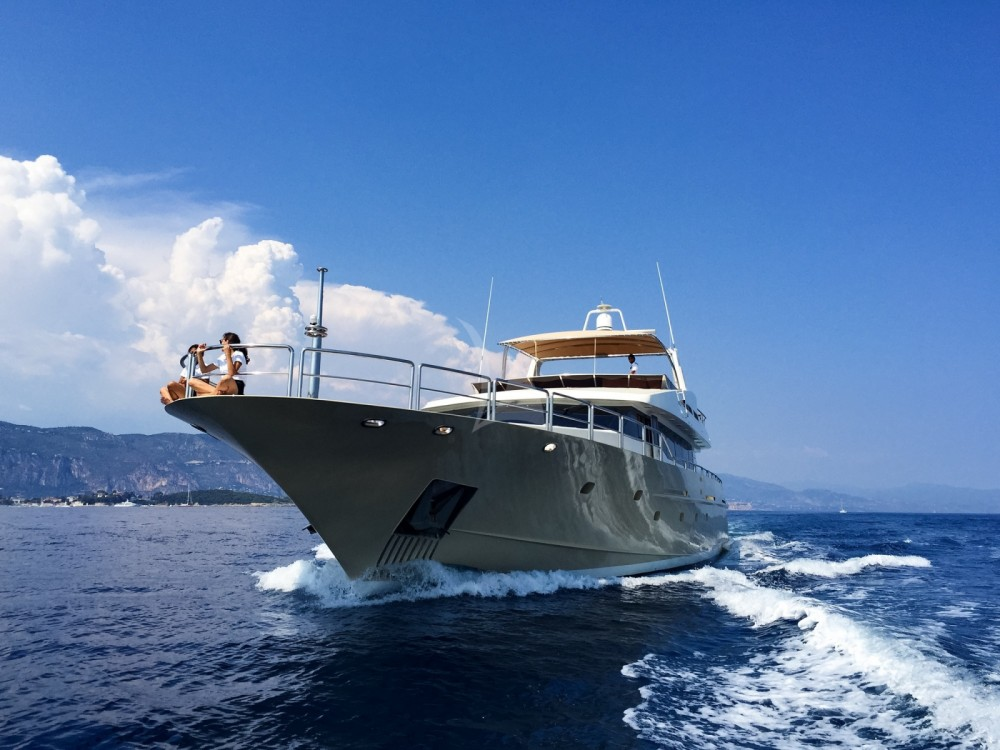 Rental Yacht Aegean Builder with a permit